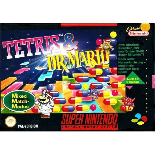 Tetris & Dr. Mario - 2 Game Cartridge