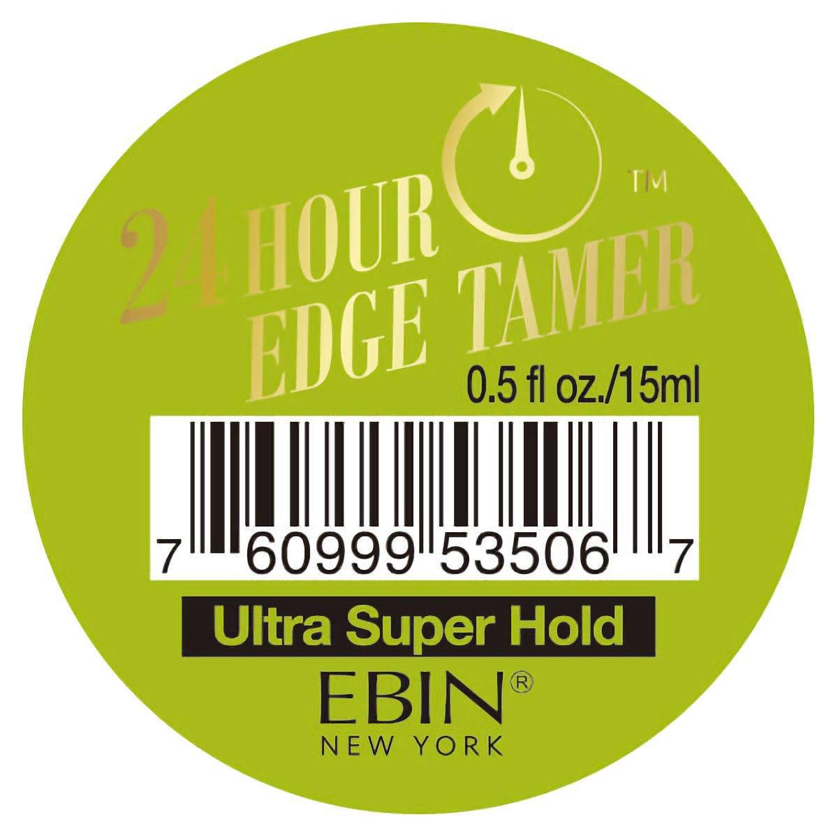 Ebin 24 Hour Edge Tamer – Ultra Super Hold 0.5 oz