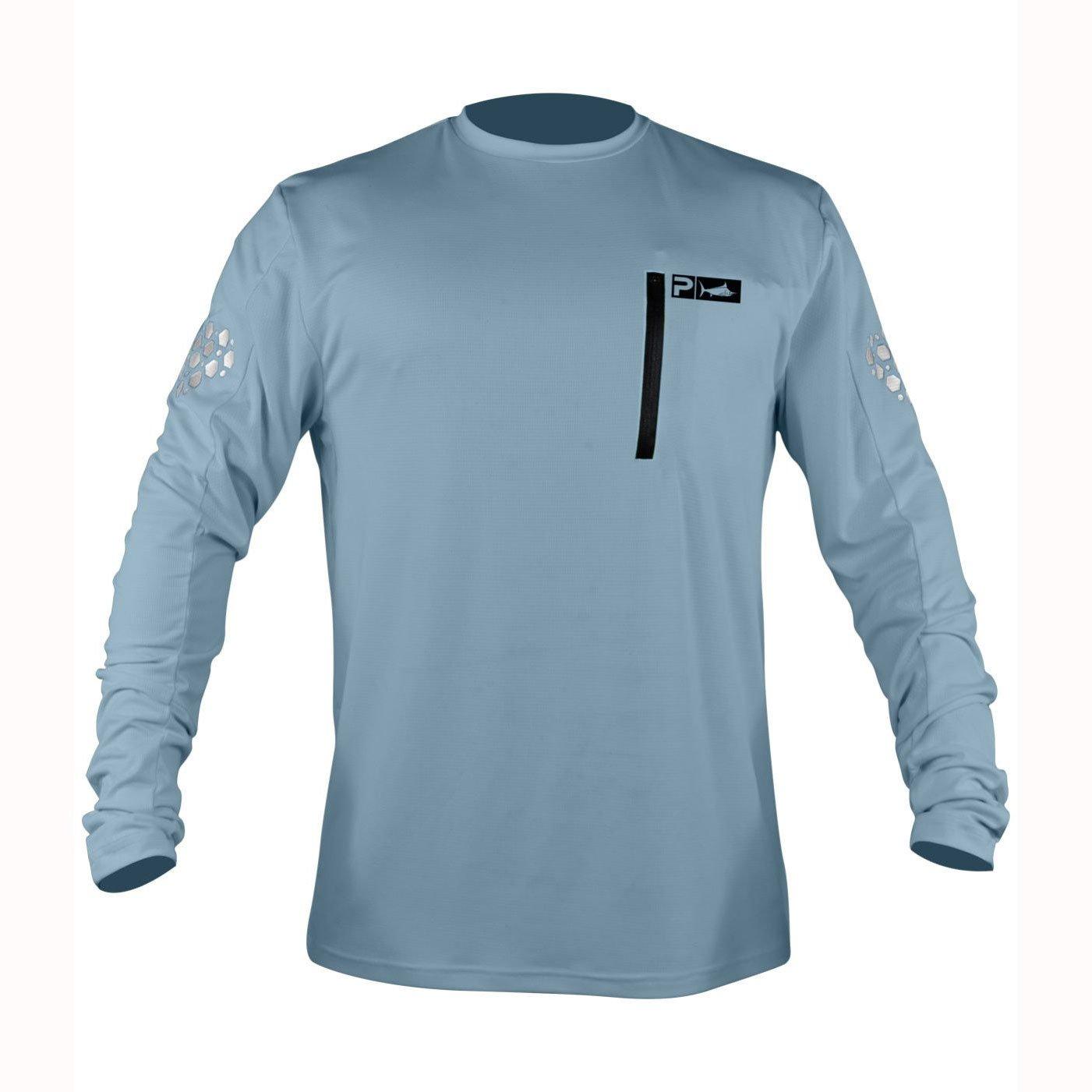 8dcbaa6be Pelagic Aeroflex de Hombres Manga Larga Camiseta de Pesca