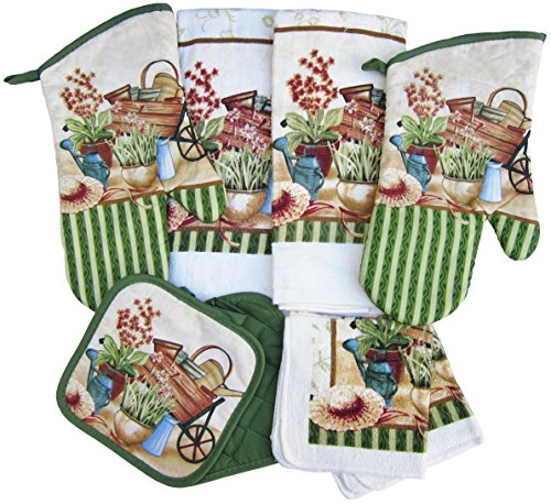 8-Piece-Gardeners-Paradise-Kitchen-Linen-Set-Oven-Mitts-Pot-Holders-Towels-and-Dish-Cloths