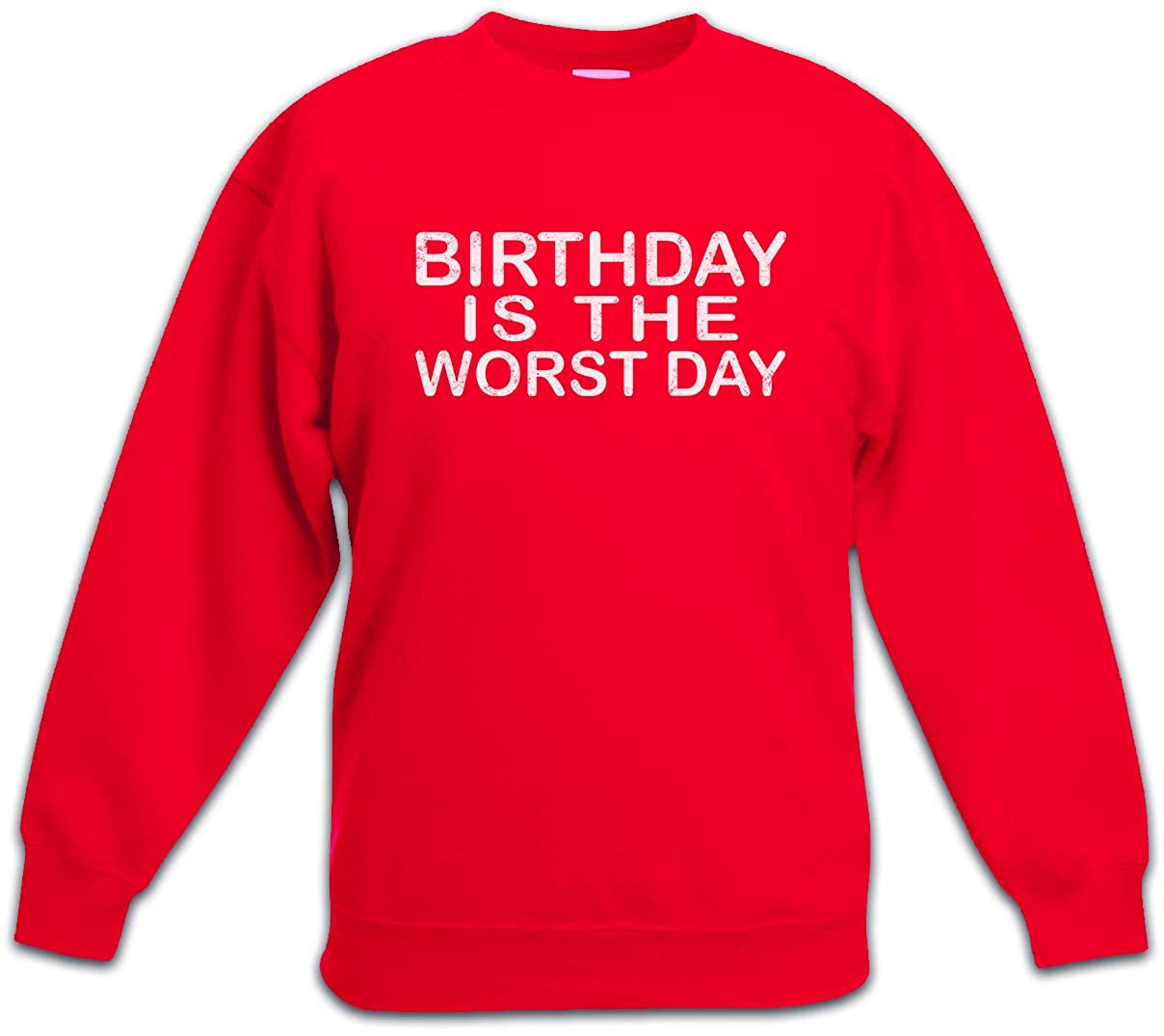Bekleidung Urban Backwoods Birthday Is The Worst Day Kinder Jungen Madchen Pullover