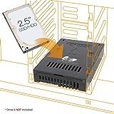 "ICY DOCK 2.5"" to 3.5"" SAS/SATA HDD & SSD Converter/Mount/Kit/Adapter - EZConvert MB882SP-1S-2B"
