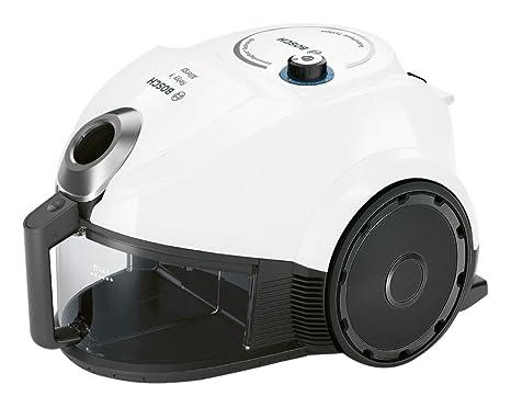 Bosch BGC3U131 Aspirador sin bolsa, 600 W, 1.7 litros, 80 Decibelios, Blanco
