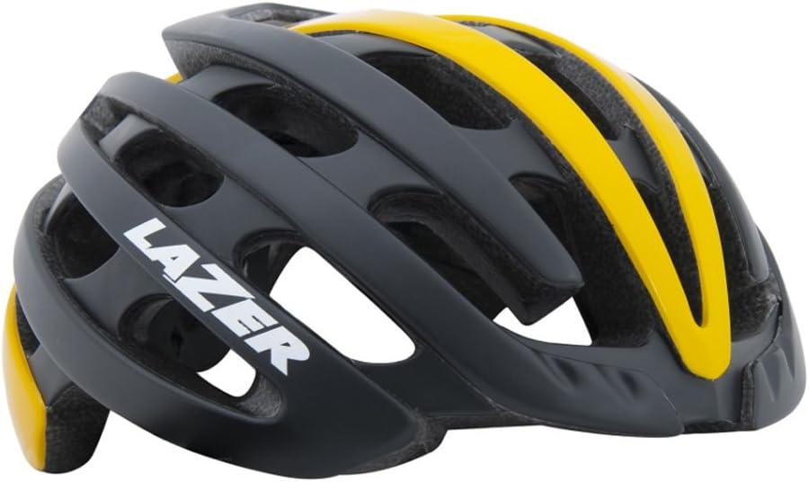 Lazer Z1 Helmet Black Yellow, L