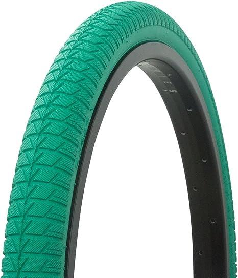 Fenix Wanda Vendetta Banda de Rodadura neumático de la Bicicleta Pared Blanca de 20 x 1,75 Bicicletas, Verde: Amazon.es: Deportes y aire libre