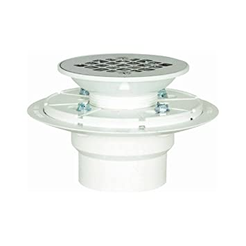 Sioux Chief 821 2PPK PVC Shower Pan Drain Stainless Steel Strainer