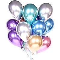HOUZE LS-9488 Balloons (Set of 10) - Mixed Chrome
