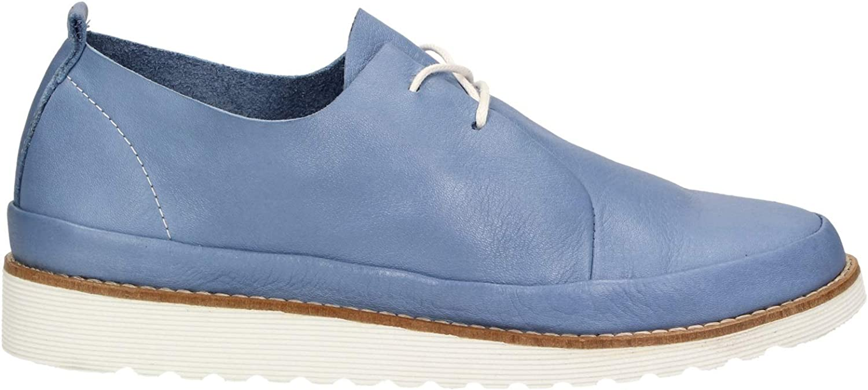 Zweigut® -Hamburg- komood #305 Damen Sommer Schuh federleicht Komfort Leder Handmade in Portugal Blau O4Nbt