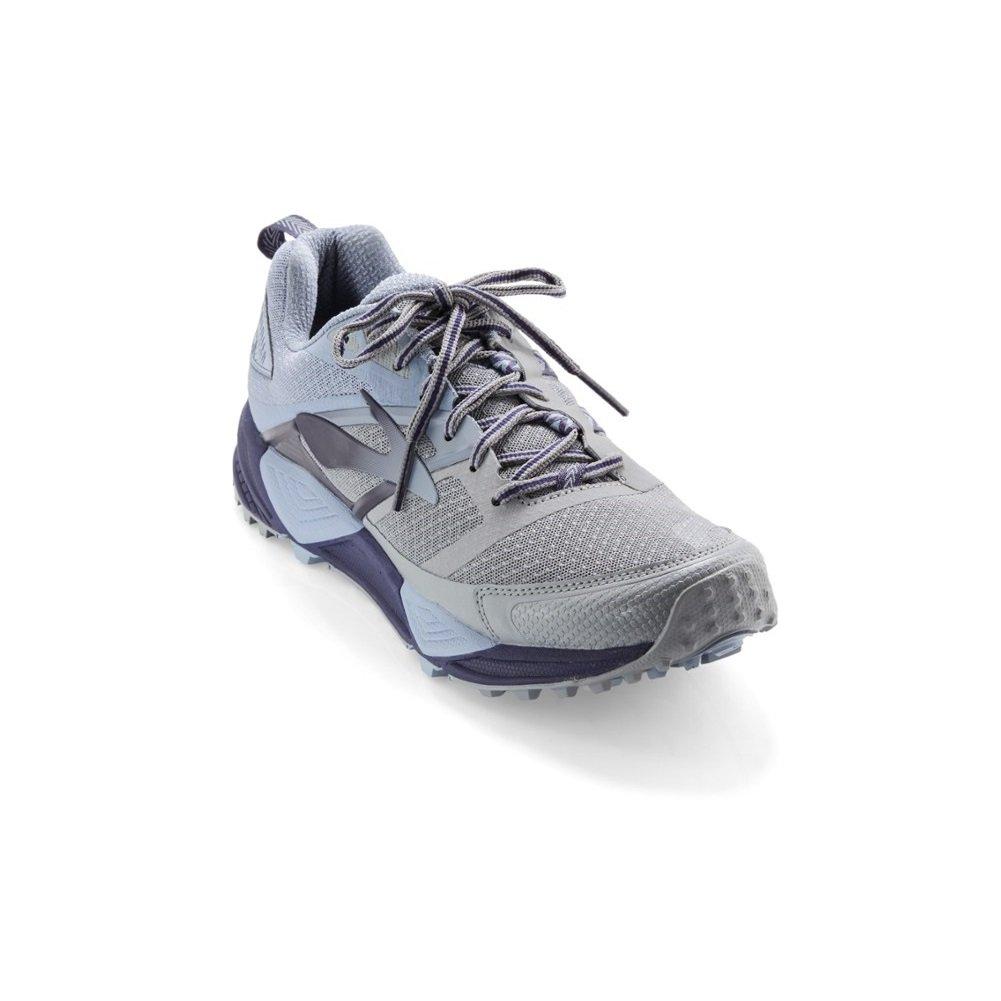 Brooks Chaussures de Trail pour Homme Gris Glacier/Navy/Grey