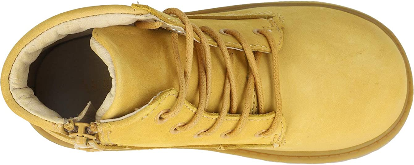 Akid Atticus Tan Leather Infant Ankle Boots
