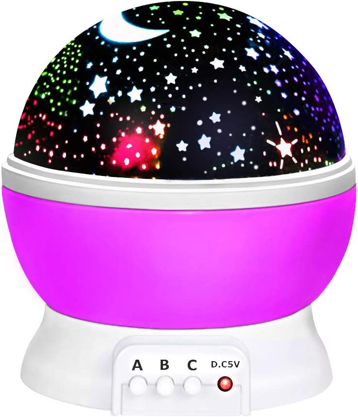 ROKY dmazing Star Night Light for Kids New Projector lamp for Bedroom