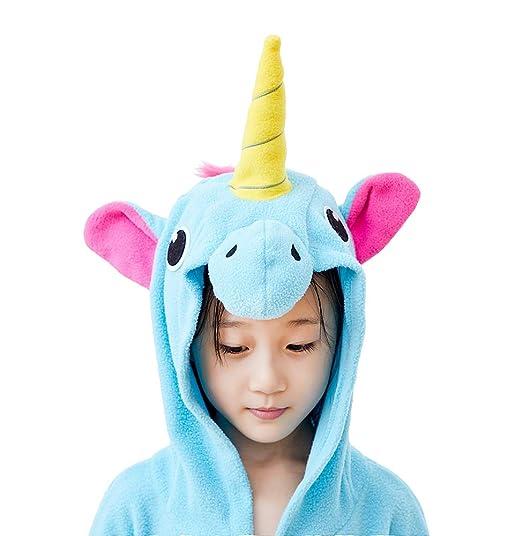 04244a2fae98 Amazon.com  EcoOnesie Kids Animal Onesie Star Unicorn Cosplay Pajamas One  Piece Costumes  Clothing