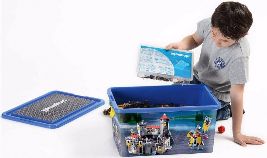 Playmobil 064660 - Caja organizadora y Caja de almacenaje de Caballeros: Amazon.es: Hogar