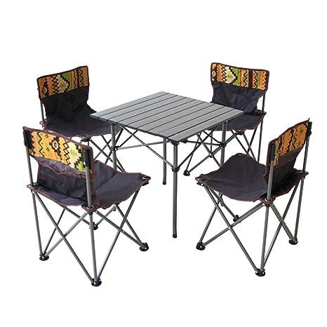 El Mesa de casa plegable gris de alta resistencia, mesa ...