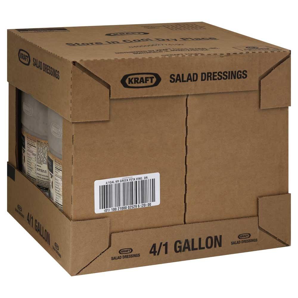 Kraft Greek Vinaigrette Dressing, 1 Gallon -- 4 per case. by Kraft