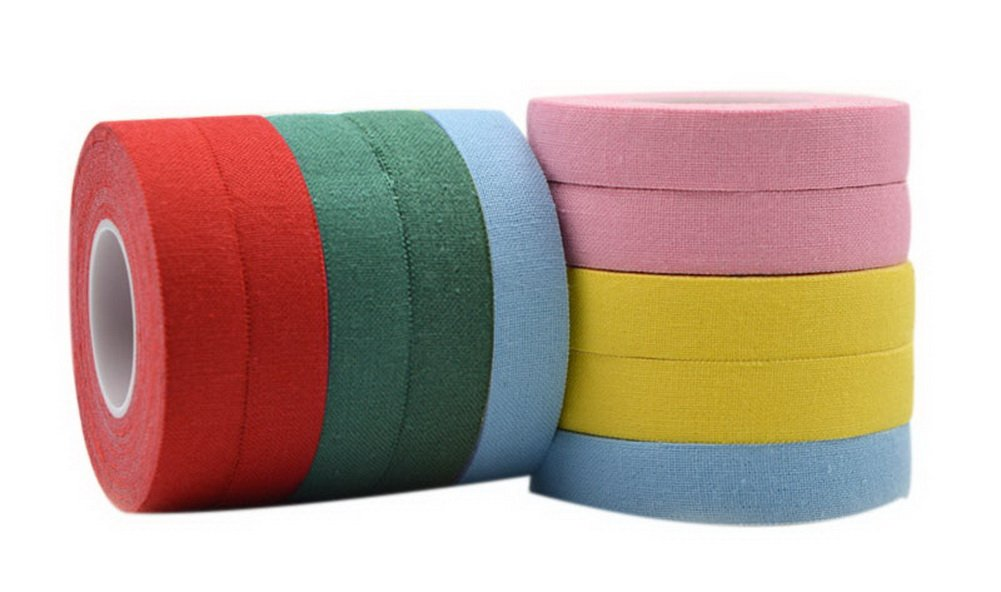 Guzheng Finger Tape Accessory 2 Rolls Red Green Blue Yellow Pink For Each Colors Gentle Meow GM-MUS11967501-ZARA01228