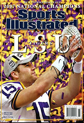 (Matt Flynn 2007 Sports Illustrated Autograph Replica Poster - LSU Tigers)