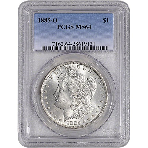 1885 O US Morgan Silver Dollar $1 MS64 PCGS