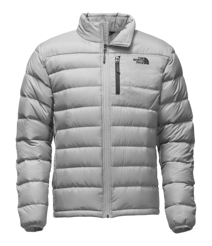 The North Face Men's Aconcagua Jacket - Monument Grey - M (Past Season)