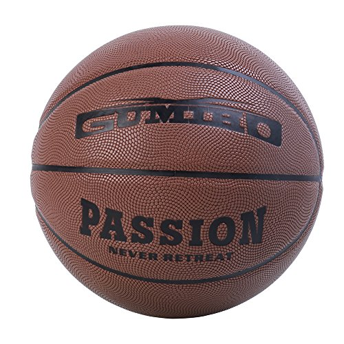 [XGUMIHO Basketballs Indoor Moisture Absorbing Hygroscopic Leather Mens Games Professional Street Official Size 7/29.5