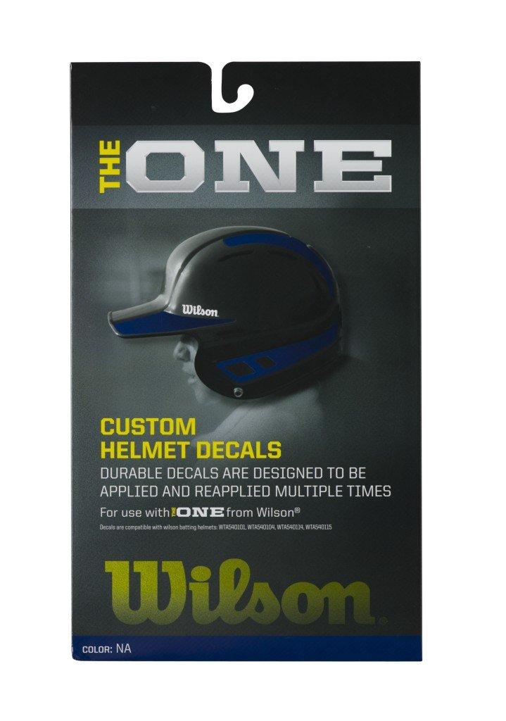 Wilson Custom Helmet Decal Kit (Navy)
