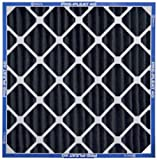 AAF Flanders 81255.011620 16 by 20 by 1 Charcoal Pleat Air Filter, 12-Pack