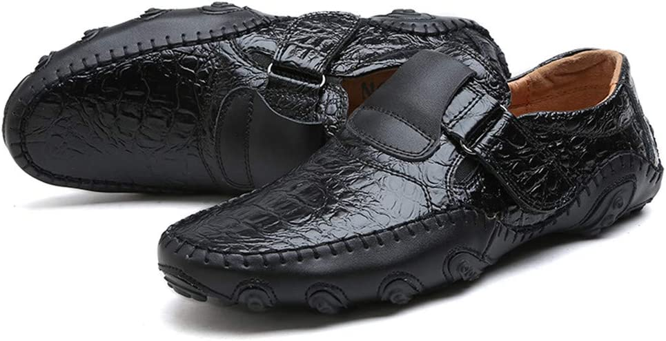 HYF Oxford Shoes Men Drive Loafers Casual The New Octopus Soft Bottom Breathable Boat Moccasins Business Shoes for Men Color : Black, Size : 8 M US