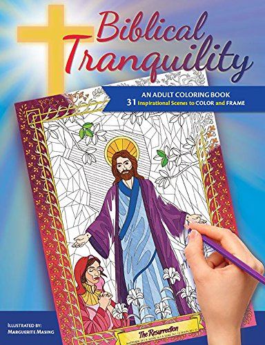 Biblical Tranquility: An Adult Coloring Book ()