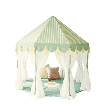 Win Green Cotton Play Tent Pavilion and Quilt -Willow Green  sc 1 st  Amazon.com : pavilion play tent - memphite.com