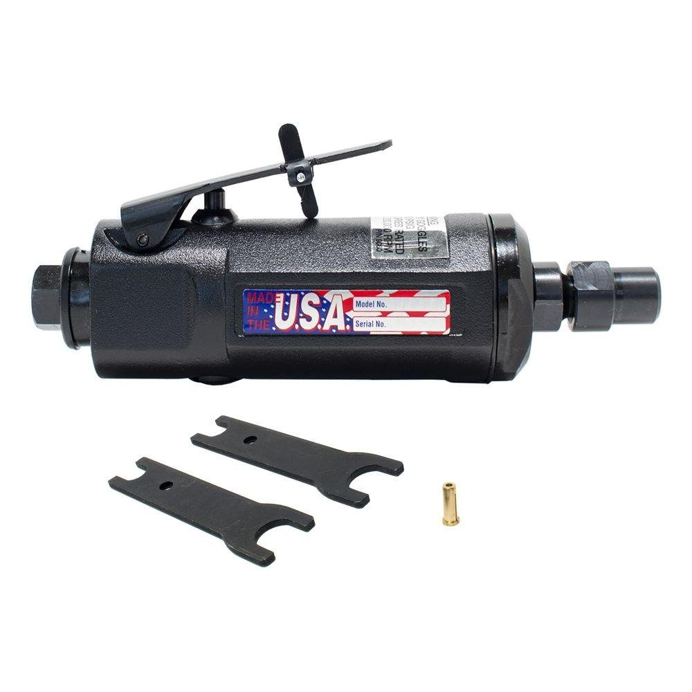 St. Louis Pneumatic 1 4 in. Heavy Duty Die Grinder with Adapter