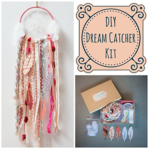 the-house-phoenix-pink-diy-dream-catcher-kit-the-perfect-make-your-own-craft-project-for-a-birthday-