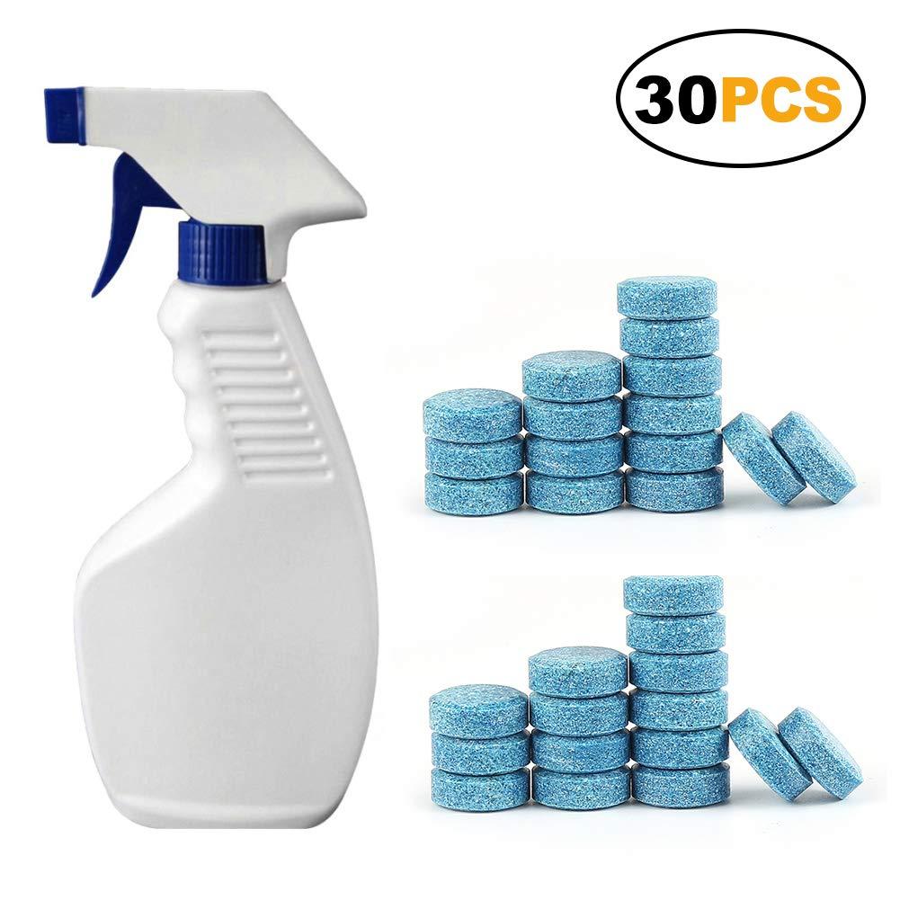 5 limpiaparabrisas fiables sin honghate, respetuoso con el medio ambiente, para limpieza de detergentes 7#: Amazon.es: Hogar
