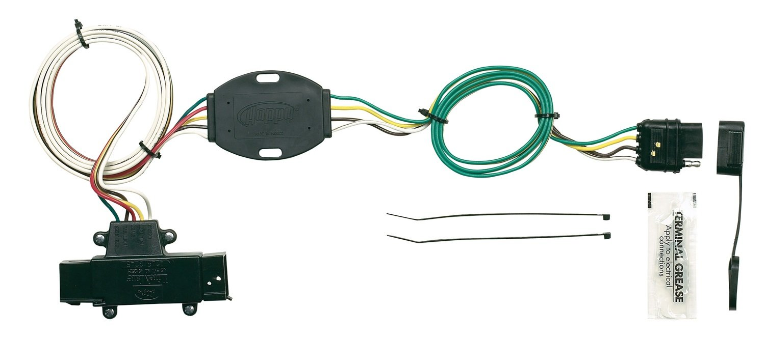 61T43nKEeRL._SL1500_ amazon com hopkins 11142455 plug in simple vehicle wiring kit Wire Harness Assembly at n-0.co