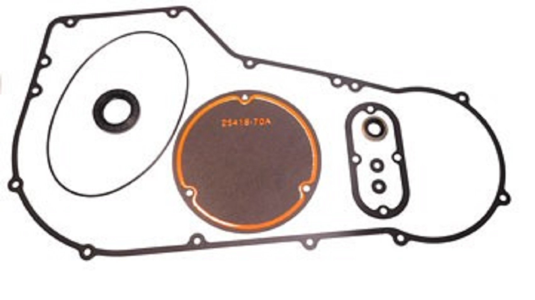 OCP PRIMARY GASKET KIT FOR HARLEY 1994-1998 Big Twin Evolution SOFTAIL Models DERBY,INSPECTION,SEALS by Orange Cycle Parts