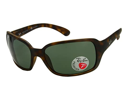 d3b6be1c037 Image Unavailable. Image not available for. Color  Ray Ban RB4068 894 58  Matte Havana   Brown Polarized Sunglasses