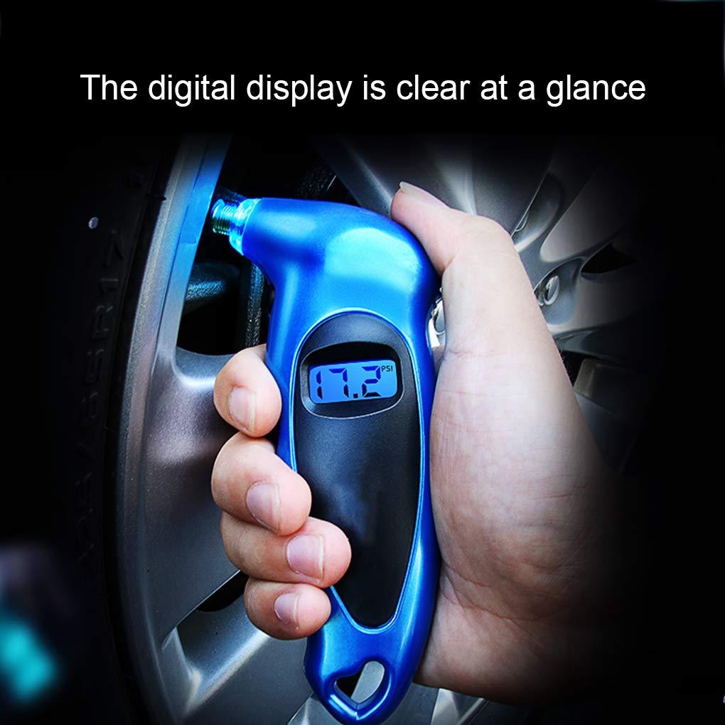 Fangfeen Digital Car Aria della Gomma Manometro Display LCD misuratore di Pressione dei Pneumatici del Camion della Bici del Motociclo Manometro barometri Tester