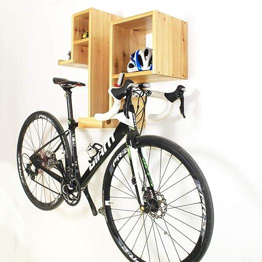 CARACHOME Soporte Bicicleta, Soporte Bicicletas Pared,Ahorro De Espacio, Montaje En Pared Apartamento: Amazon.es: Hogar