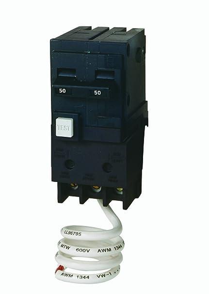 murray mp250gf 50 amp 2 pole 240 volt ground fault circuitmurray mp250gf 50 amp 2 pole 240 volt ground fault circuit interrupter amazon com