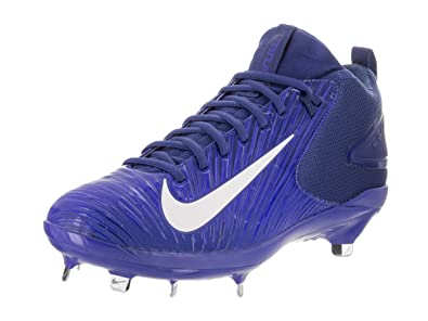 huge discount 29d3a dbea6 Nike Men s Trout 3 Pro Baseball Cleat (Blue White, ...