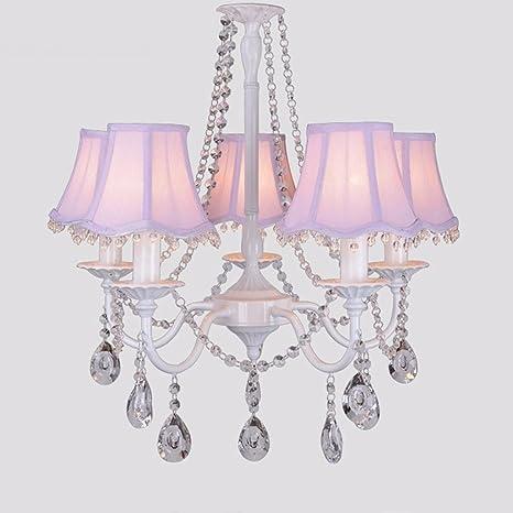 Lámpara de techo Araña de jardín rural de Crystal Baby ...