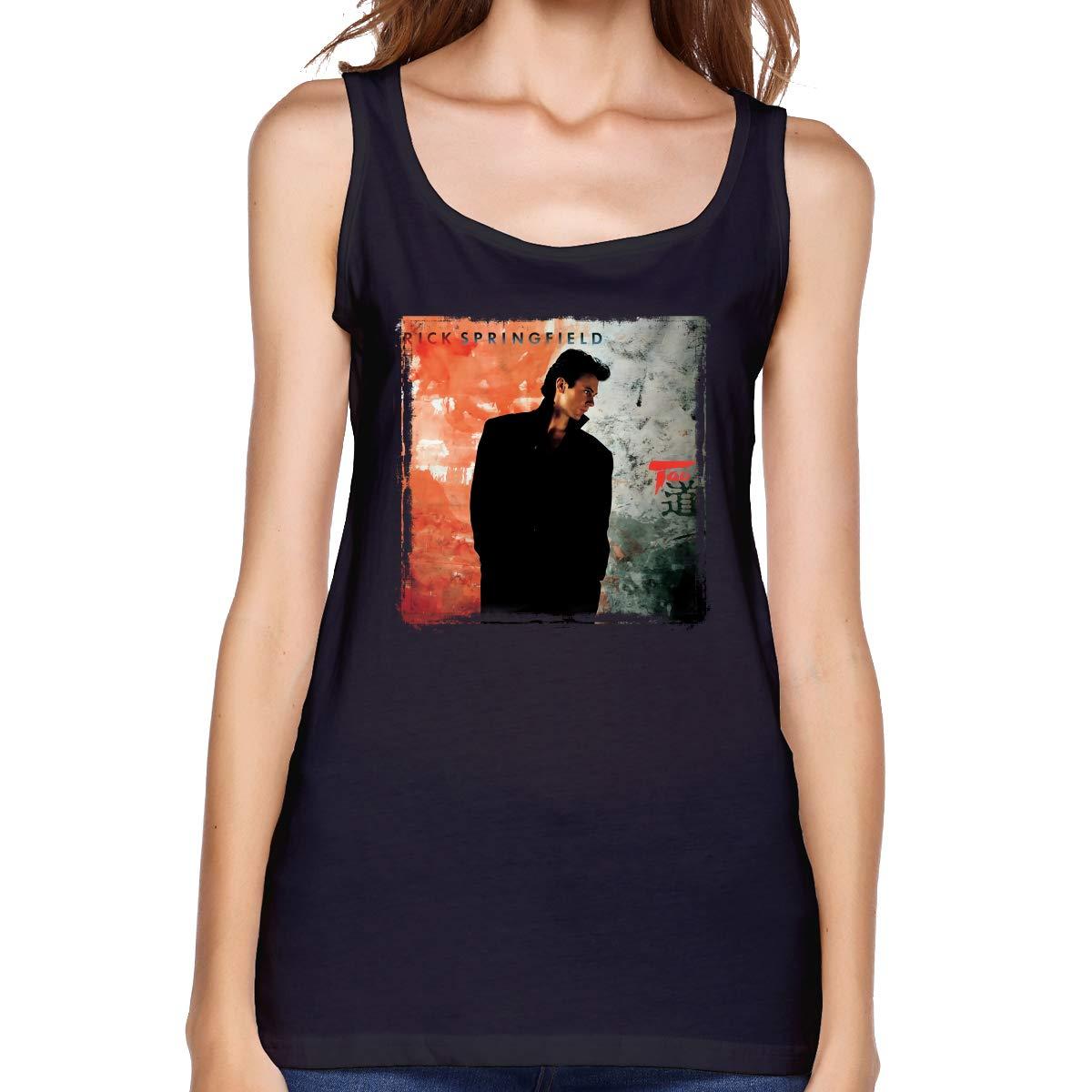 Rick Springfield Tao Sportswear Yoga Tank Top Shirt 7148