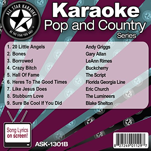 Music : All Star Karaoke Pop and Country Series (ASK-1301B)