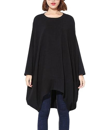 ELLAZHU - Camiseta de manga larga - para mujer