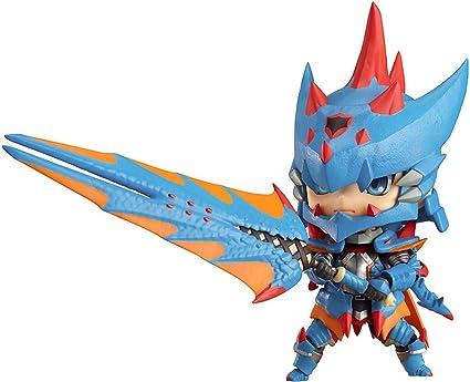 Amazon Com Good Smile Monster Hunter Male Swordsman Nendoroid