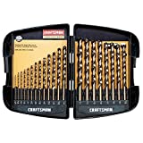 Craftsman 9-64085 Professional Cobalt Drill Bit Set, 21 Piece