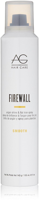 AG Hair Smooth Firewall Argan Shine & Flat Iron Spray