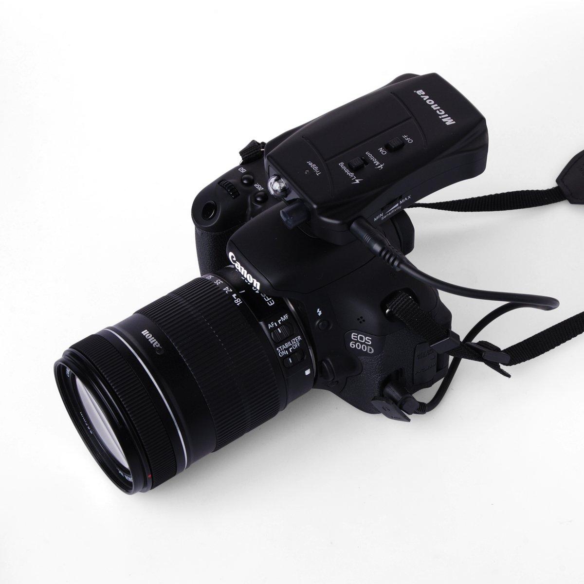 Micnova LC03C Disparador Lightning Rayo Motion Sensor Sensor de Movimiento Trigger Remote For Canon DSLR Camera Cámara LF583: Amazon.es: Electrónica