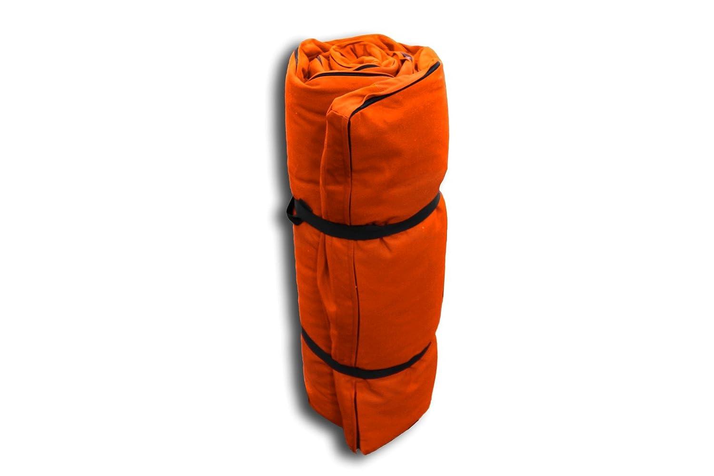 Futon Portatile Orancione, 200x120x4 cm Futon On Line 0813002