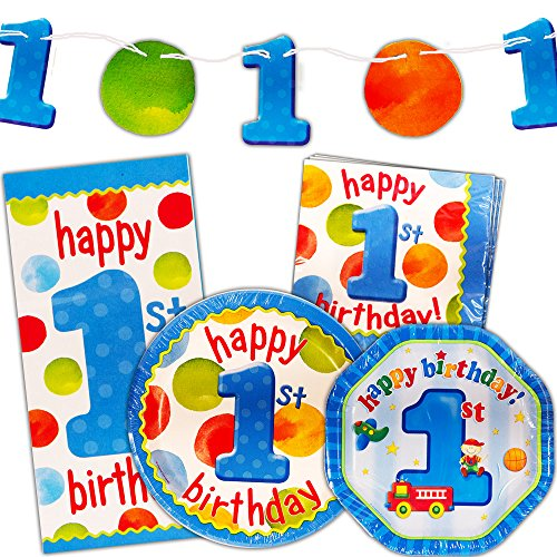 baby 1st birthday party supplies - 9
