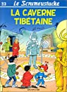 Le Scrameustache, tome 23 : La caverne tibétaine par Gos